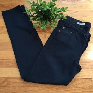 AG Blue, the Stilt/Cigarette leg jeans. Sz 31R